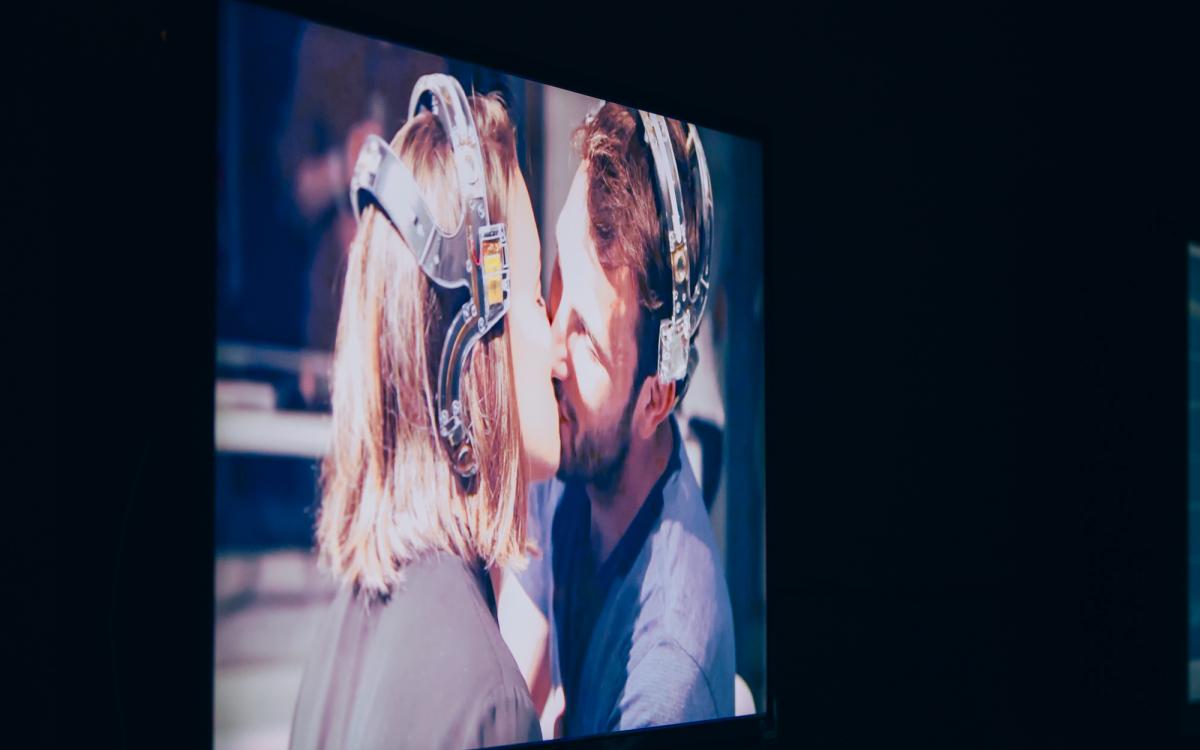 Karen Lancel and Hermen Maat: E.E.G. KISS (2014)