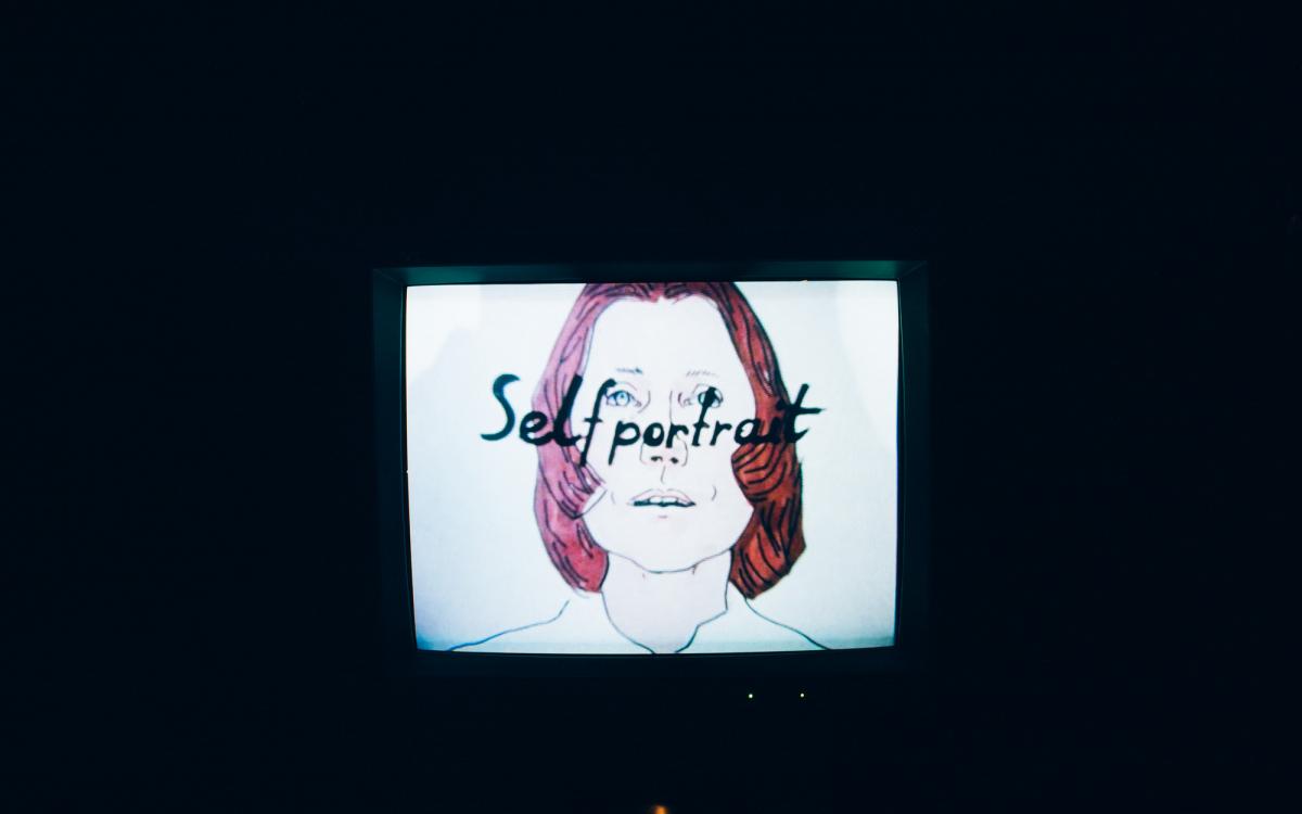 Maria Lassnig: Selfportrait, 1971