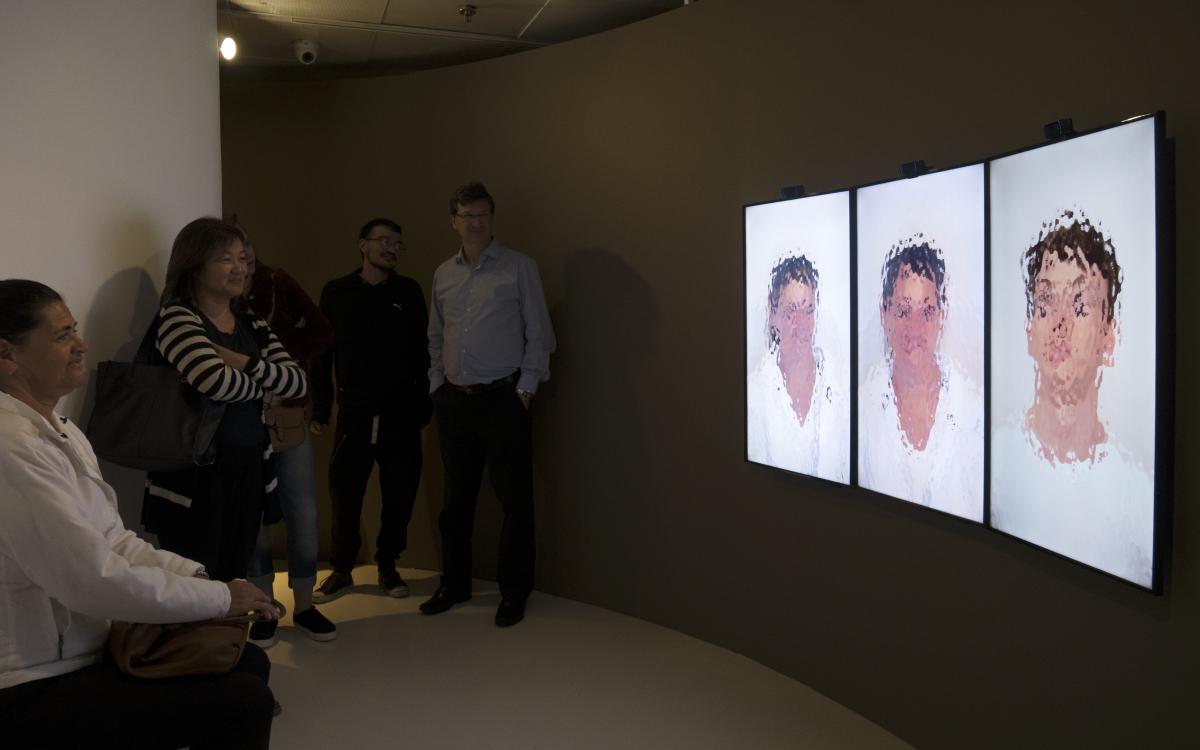 Neuro Mirror, 2017 / installation view