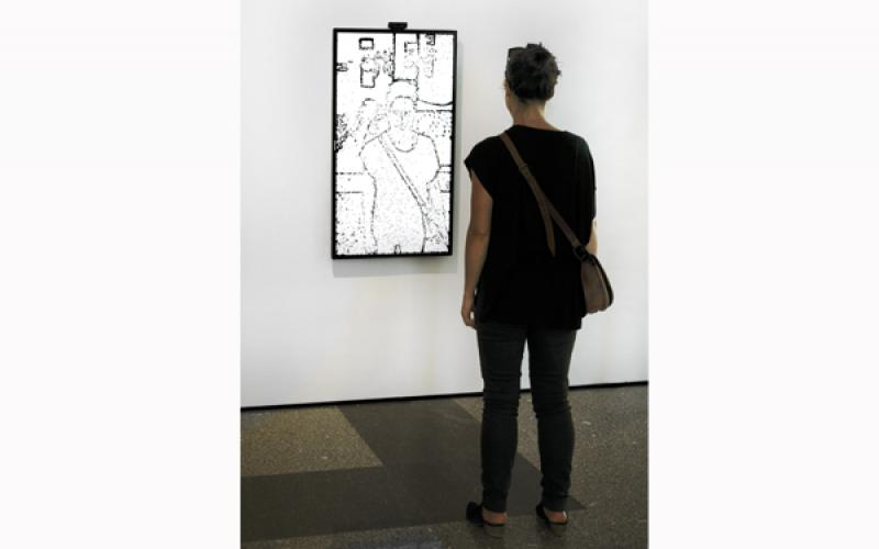 Portrait on the Fly, 2015 / installation view